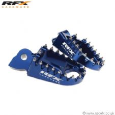 Racefx Trick Wide Footpegs Blue Yamaha YZ/YZF 125-450 99-11